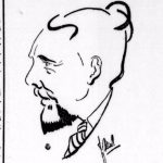 Cartoon from 'Volk en Vaderland' 28/10/1933