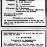 obituary Franz Farwerck